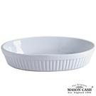 【MASON】CLASSIC系列陶瓷橢圓烤盤28CM(白)