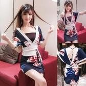 日本和服女連身裙短款夜店性感cos服【奇趣小屋】