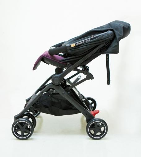[ 家事達 ] BRITAX B-Compact 秒收嬰兒手推車 -灰色