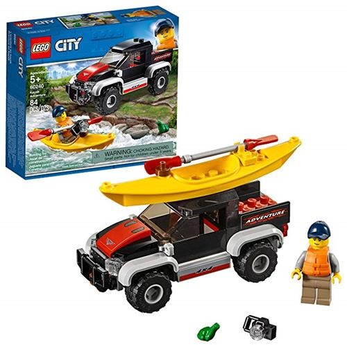 LEGO 樂高 City Great Vehicles Kayak Adventure 60240 Building Kit (84 Piece)