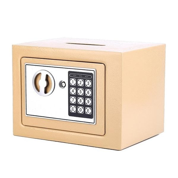 存錢罐電子密碼帶鎖紙幣存錢罐保險箱成人儲蓄罐硬幣儲錢罐兒童生日禮物【巴黎世家】