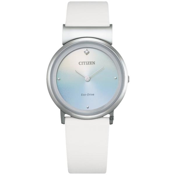 CITIZEN 星辰 L系列鈦金屬光動能女錶-31mm(EG7070-14A)