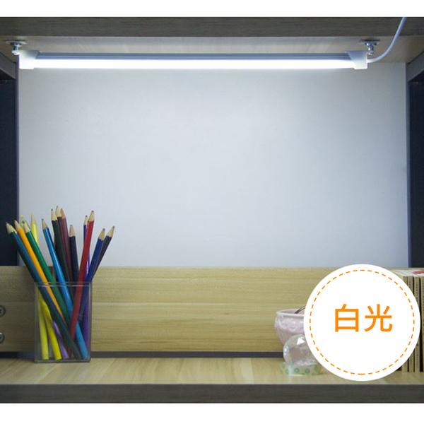 爆亮USB日光燈管 1.8米 35公分 檯燈 6000K 5V LED燈管 磁吸 書桌燈 露營 停電 行動電源【4G手機】