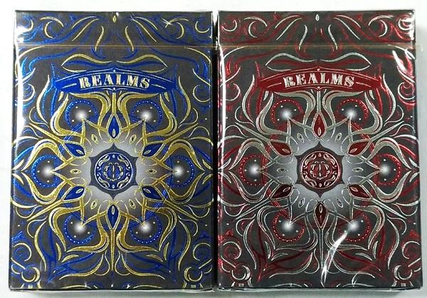 【KICKSTARTER撲克】Realms playing card 撲克牌