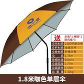 釣魚傘 -漁之源 釣魚傘雨傘2.4米萬向防雨戶外魚傘垂釣遮陽傘漁具地插釣傘jy MKS聖誕免運