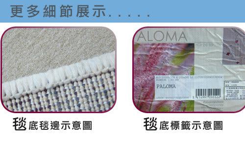 范登伯格 堤香 簡約時尚地毯-花語(灰)-160x230cm