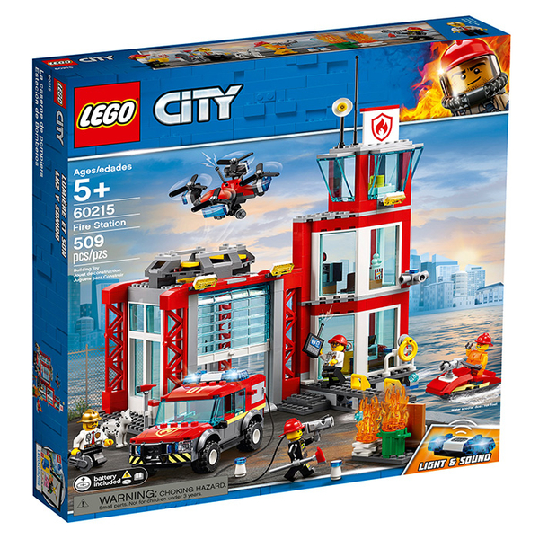 LEGO 樂高 City 城市系列 60215 消防局 【鯊玩具Toy Shark】