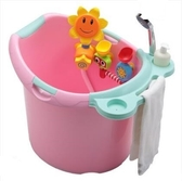 兒童浴桶大號嬰兒浴盆寶寶洗澡盆加厚可坐洗澡桶沐浴桶新生兒用品ATF 格蘭小舖