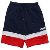 PUMA 短褲 CELEBRATION 深藍 白 紅 短棉褲 男 (布魯克林) 58428506