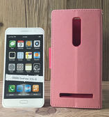 ◎福利品側翻皮套 ASUS ZenFone 2 Deluxe ZE550ML Z00AD/ZE551ML Z008D 撞色皮套 可立式 插卡 保護套 手機套