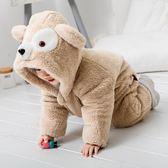 嬰兒連身衣 包屁衣 男女兒童衣服女男寶寶秋冬0-3歲長袖【奇趣小屋】