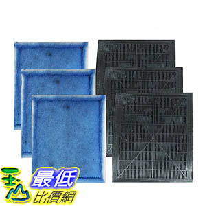 [106美國直購] Think Crucial Aqua-Tech EZ-Change Aquarium Filter Cartridge Replacement Aqua-Tech 20-40 and 30-60 6-Piece