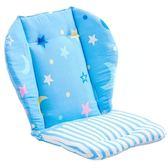 嬰兒推車棉墊全棉寶寶傘車配件兒童餐椅手推車棉質墊通用童車坐墊【星時代生活館】