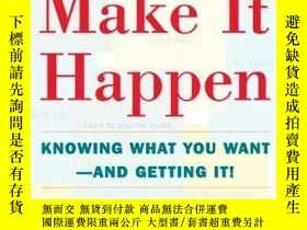 二手書博民逛書店Write罕見It Down Make It HappenY256260 Klauser, Henriette