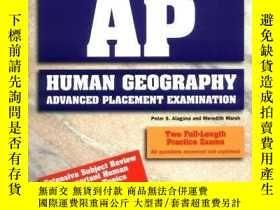 二手書博民逛書店How罕見To Prepare For The Ap Human Geography Exam (barron s
