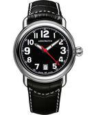 AEROWATCH 簡約紳士經典機械腕錶-黑 A60900AA08