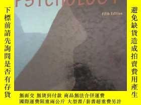 二手書博民逛書店psychology罕見(fifth edition)Y3386