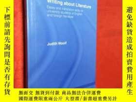 二手書博民逛書店Writing罕見about Literature: Essay