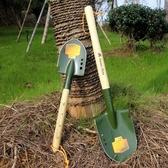錳鋼軍工鏟鐵鏟鐵鍬多功能工兵鏟子戶外挖土鏟釣魚鏟園藝園林 扣子小鋪