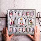 寶寶12個月周歲相框兒童成長記錄紀念創意相架擺台掛牆百日宴禮物