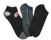 男襪(3雙入) 氣墊加厚底 加大款 台灣製造 MIT 襪子 花色 隨機出貨 28-30cm或24-28cm
