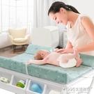 新生嬰兒換尿布台多功能寶寶洗澡台可摺疊便攜bb浴盆護理台 1995生活雜貨NMS
