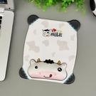 夢天韓版鼠標墊護腕創意可愛卡通硅膠胸舒適柔軟護腕墊3D手托【全館免運】