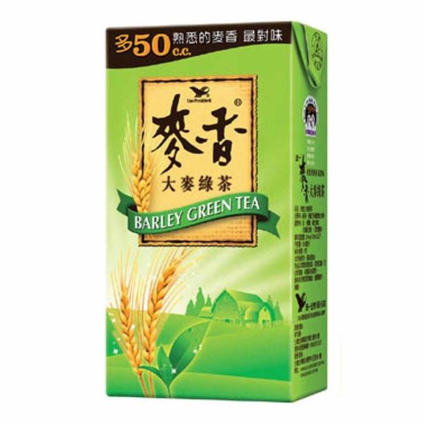 統一麥香綠茶 300ml-1箱(24入)【合迷雅好物超級商城】