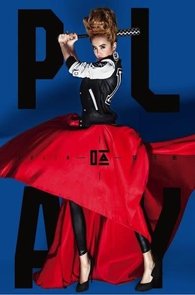 蔡依林  PALY  呸 國際豪華版 CD附DVD (購潮8)