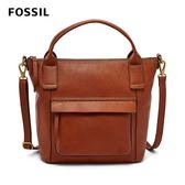 FOSSIL AIDA 艾達休閒風棕色手提側揹兩用包 SHB2098210