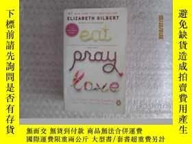二手書博民逛書店罕見eat,pray,love,Y22157 elizabeth