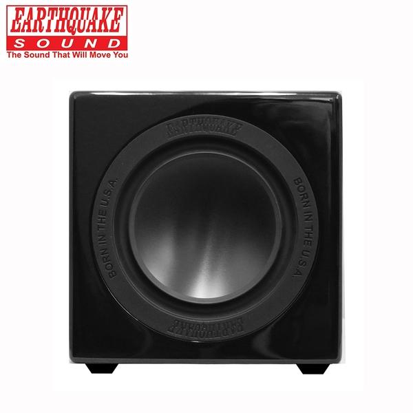 美國大地震 EARTHQUAKE SOUND MiniMe P63 重低音喇叭 (鋼烤黑)