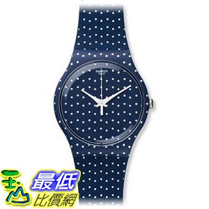 [美國直購] Swatch Unisex SUON106 For the Love of K Blue Polka Dot Watch 手錶