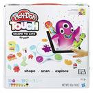 黏土 培樂多Play-Doh 創意DIY TOUCH遊戲超值組 C2860