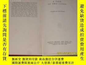 二手書博民逛書店A罕見TALE OF TWO CITIES (小32開精裝本有書
