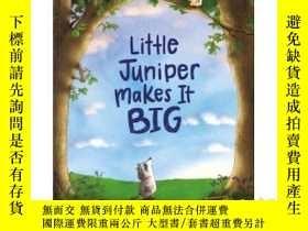 二手書博民逛書店Little罕見Juniper Makes It BigY346