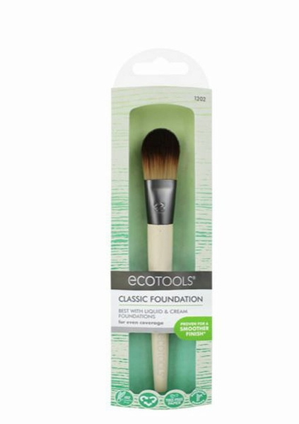 ecotools扁型粉底刷Classic Foundation Brush