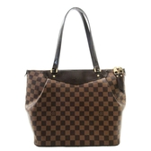 LOUIS VUITTON LV 路易威登 棋盤格抓皺拉鍊肩背包Westminster PM N41102【BRAND OFF】