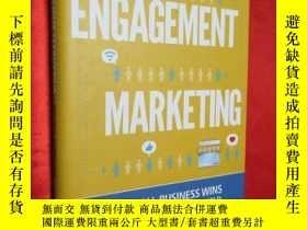 二手書博民逛書店Engagement罕見Marketing: How Small