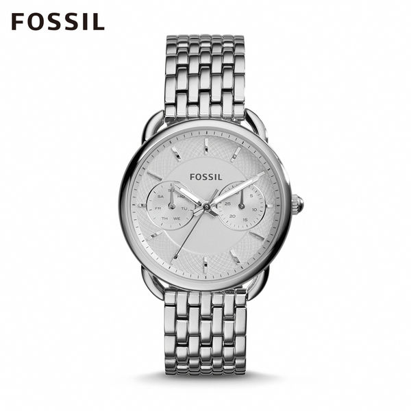 FOSSIL TAILOR 多功能不鏽鋼手錶ES3712