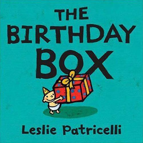 The Birthday Box 我的生日禮物 硬頁書(美國版)