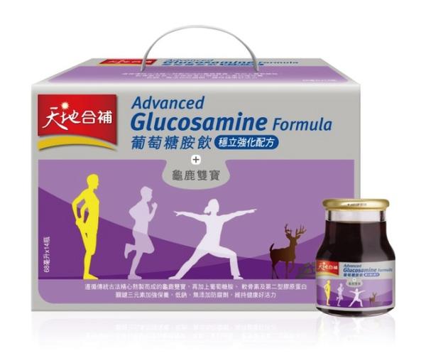 桂格 天地合補穩立葡萄糖胺飲盒裝14瓶入 *維康