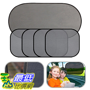 [106美國直購] 遮陽罩 Car Windshield sunshades AUTOPDR 5pcs Universal Fit Auto Car Sun Shade