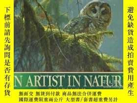 二手書博民逛書店An罕見Artist in Nature (Signed cop
