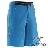 Arc'teryx始祖鳥 GammaSL 輕薄透氣軟殼短褲 男『金剛鸚鵡藍』12159 休閒運動褲│釣魚登山│排汗