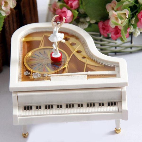 音樂盒-跳舞芭蕾舞女孩鋼琴八音盒旋轉創意兒童生日交換禮物送女生閨蜜 七夕節禮物滿千89折下殺