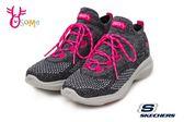 SKECHERS GO WALK REVOLUTION 運動鞋 女款 套式健走鞋 粉紅絲帶 公益款 Q8246#黑粉◆OSOME奧森童鞋