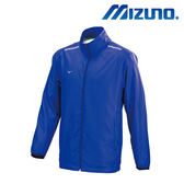Mizuno 男裝 外套 路跑 風衣 輕量 反光LOGO 法國藍【運動世界】J2TC758122