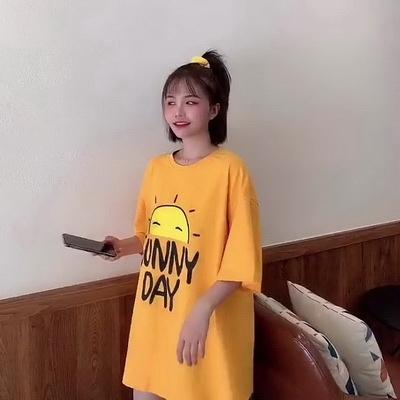 (下殺)彈性棉市場價短袖t恤女超夯網紅寬鬆韓版學生【08SG06647】