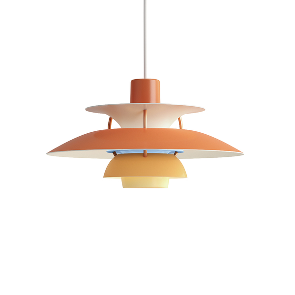 Louis Poulsen PH 5 Mini Suspension Lamp in Matt Colour 30cm 保羅漢寧森 霧面色彩系列 四層次 吊燈 - 小尺寸款